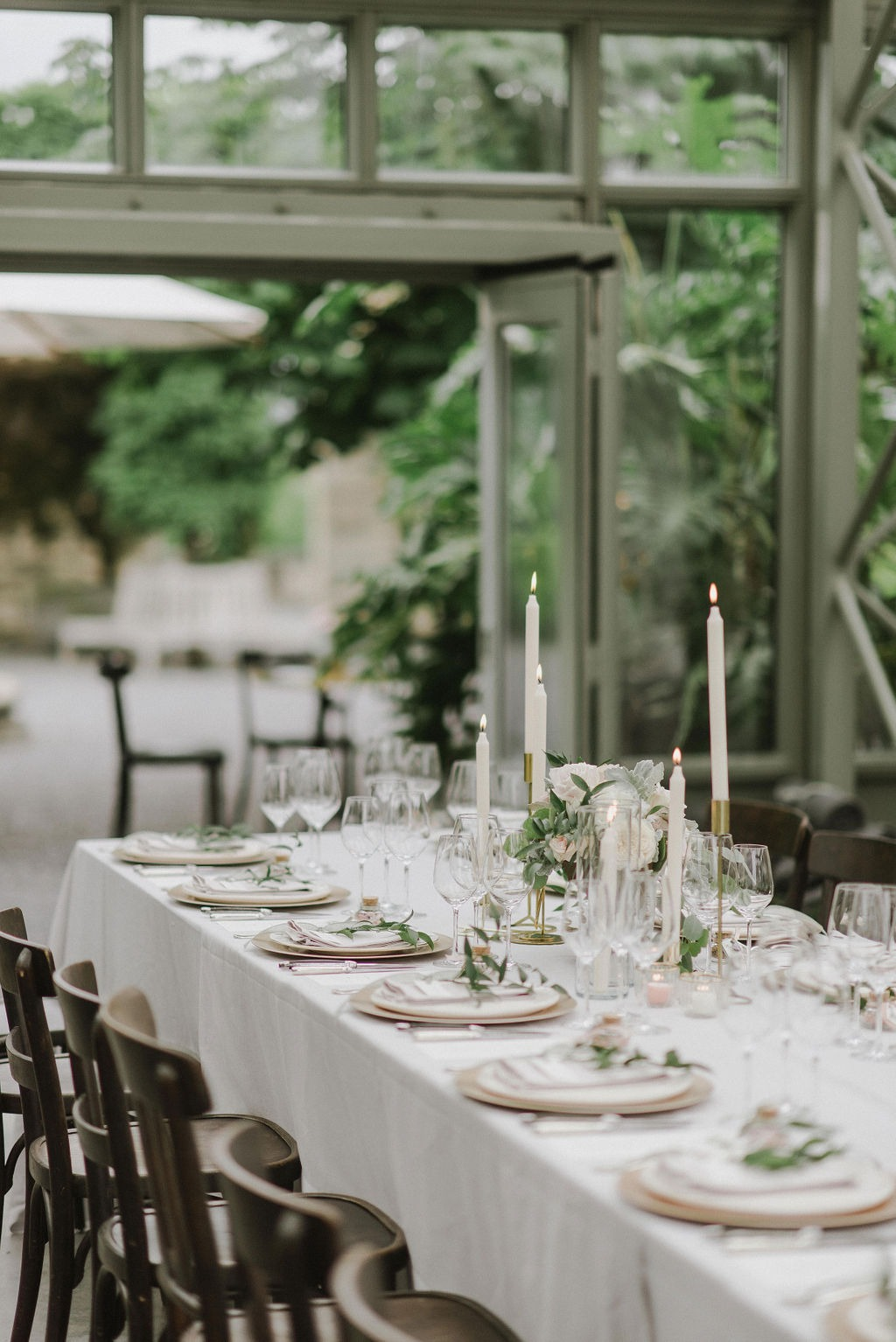 Modern Greenhouse Wedding in Rapperswil-Jona