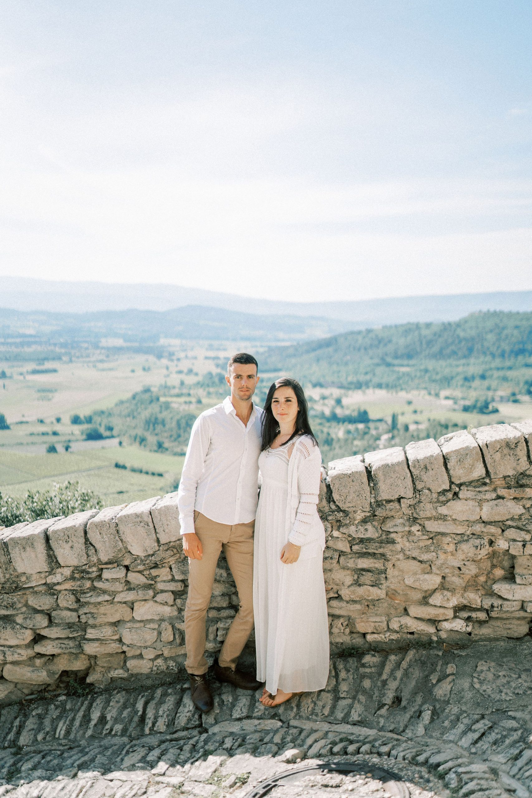 Summer Engagement Session in the Luberon