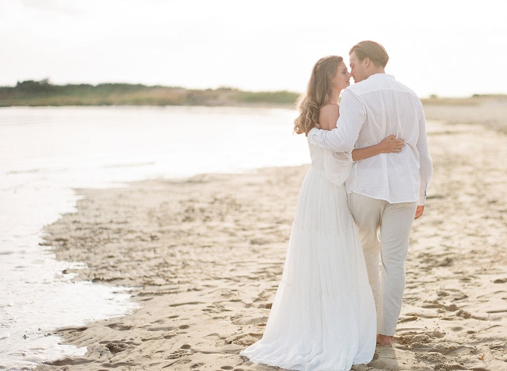 Ethereal Engagement in the Sand Dunes
