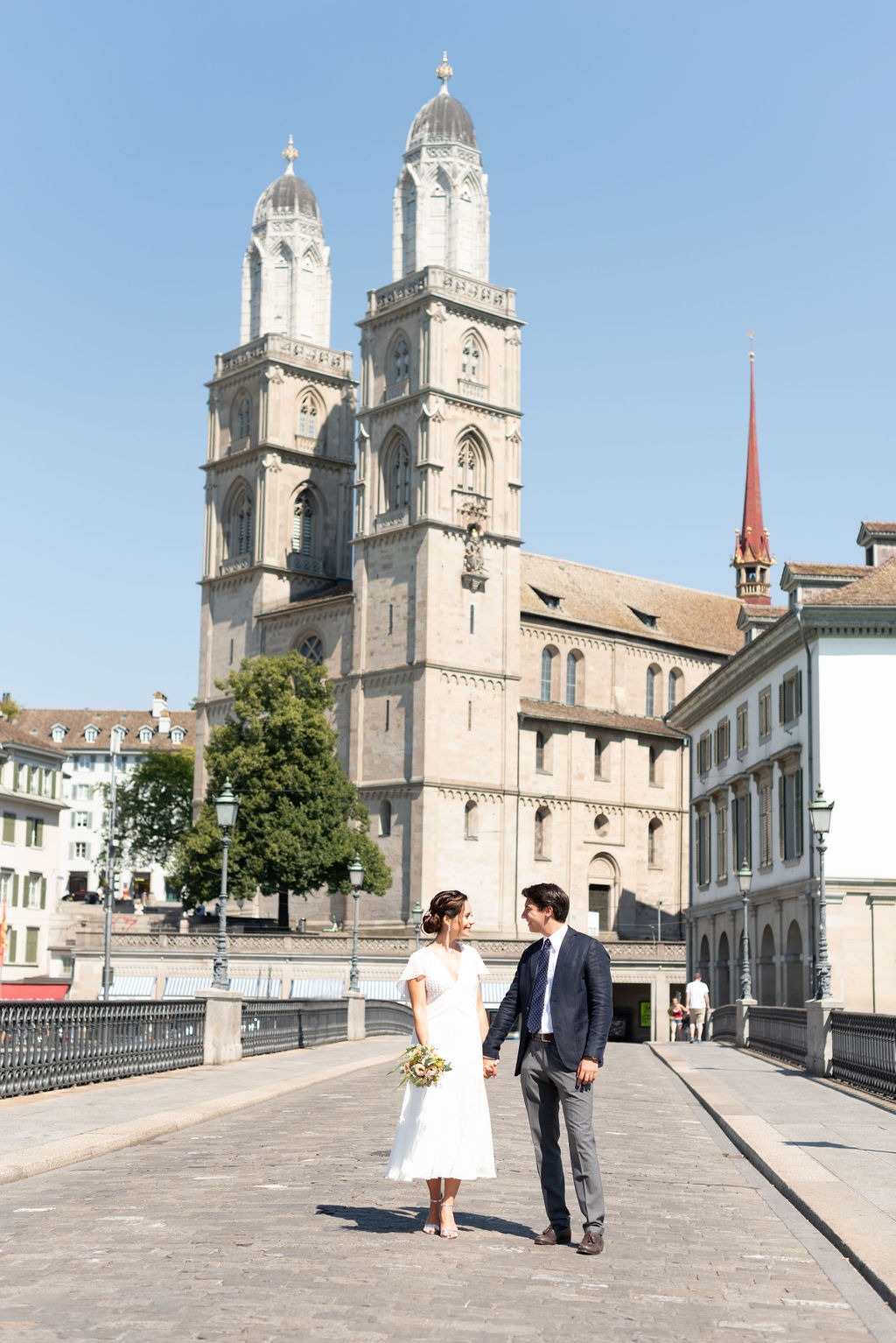 A Simple, Yet Stunning, Zurich Civil Ceremony