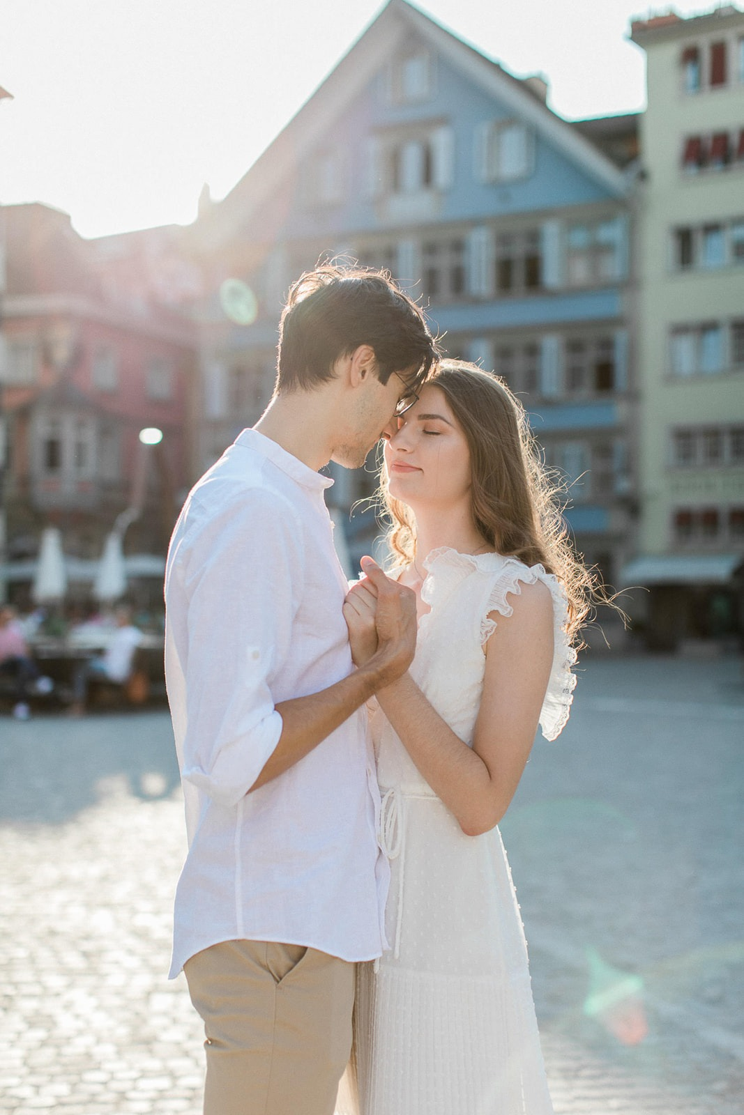 Sweet Zurich Engagement Session